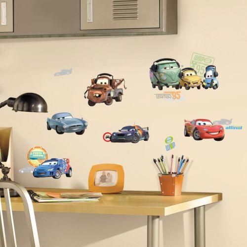 Disney / Pixar Cars 2 Wall Stickers