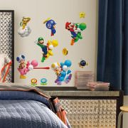 New Super Mario Bros. Wii Wall Stickers