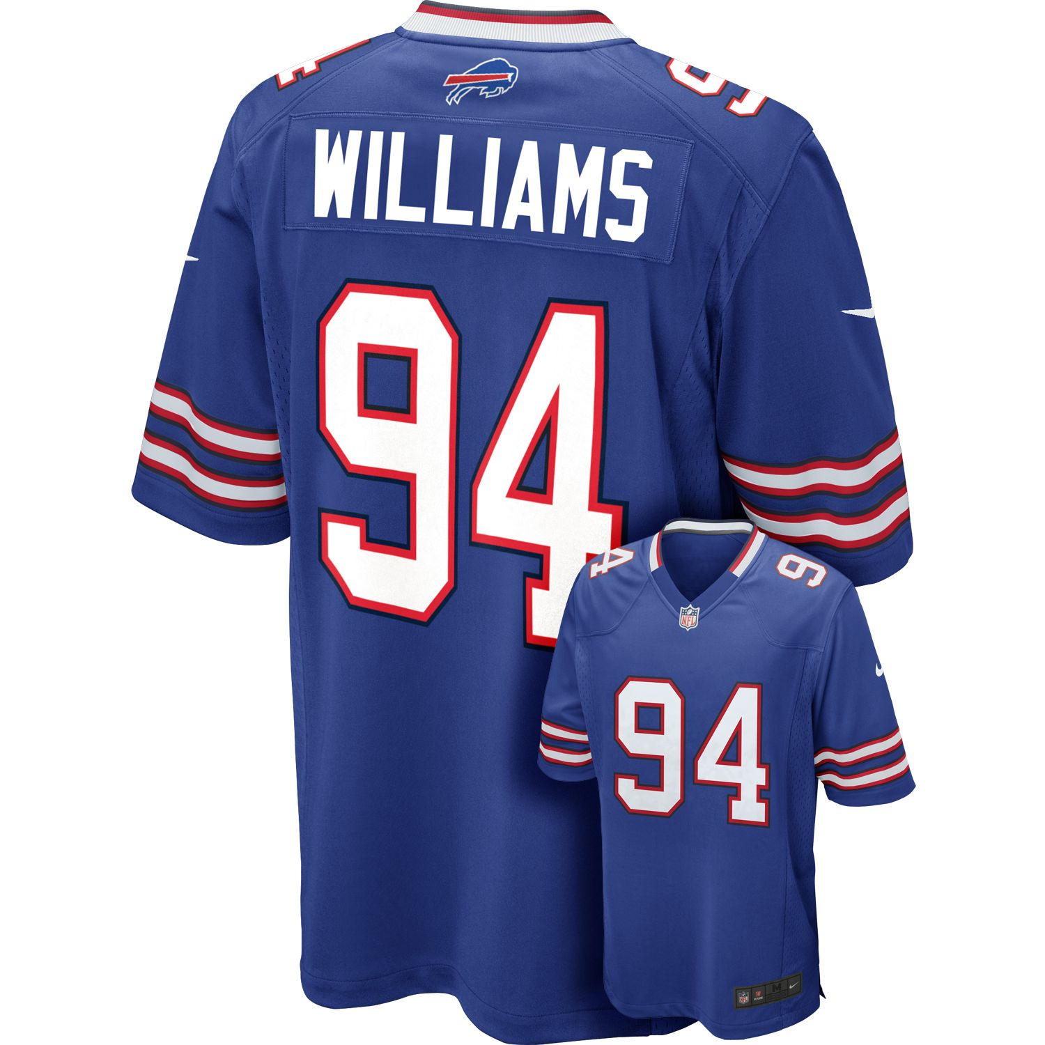 Mario Williams Game NFL Replica Jersey
