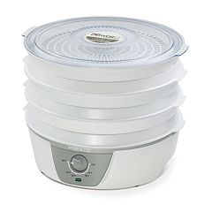Presto Dehydro Adjustable-Thermostat Electric Food Dehydrator