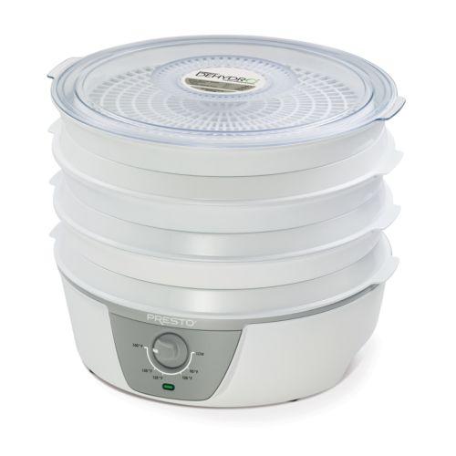 Presto Dehydro Adjustable-Thermostat Electric Food Dehydrator
