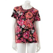 Croft and Barrow Floral Top