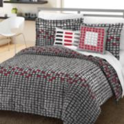 Loft Style Scribble 5-pc. Comforter Set - Full/Queen