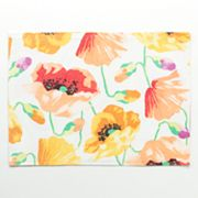 Food Network Field Poppies Ribbed Placemat