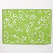 Croft and Barrow Quilted Reversible Placemat