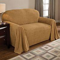 Coral Fleece Chair Furniture Throw