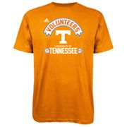 adidas Tennessee Volunteers Athletic Front Tee - Men