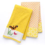 Croft and Barrow 2-pk. Butterfly Kitchen Towels