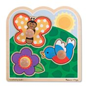 Melissa and Doug In The Garden Jumbo Knob Puzzle