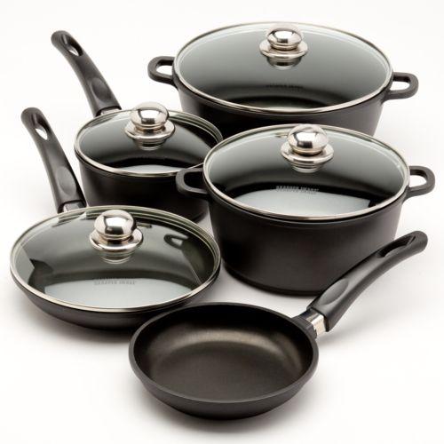 The Sharper Image 10-pc. Aluminum Cookware Set