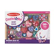 Melissa and Doug Sweet Hearts Wooden Bead Set