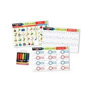 Melissa and Doug Basic Skills Learning Mats Set