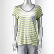 Simply Vera Vera Wang Weekend Drive Lounge Top