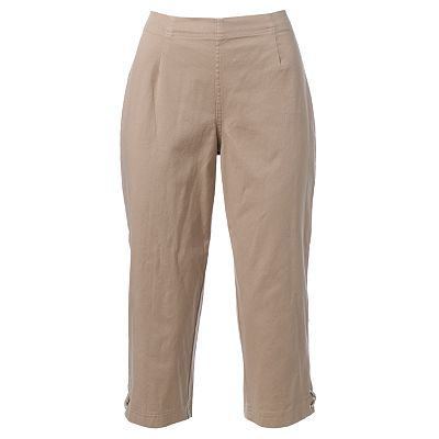Croft and Barrow Pull-On Capris