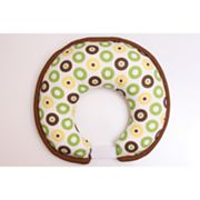 Bacati Mod Dots and Stripes Nursing Pillow Cover