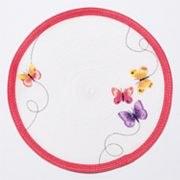Croft & Barrow Butterfly Round Placemat