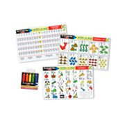 Melissa and Doug Alphabet and Numbers Learning Mats Set