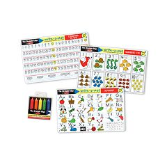 Melissa & Doug Alphabet & Numbers Learning Mats Set