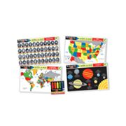 Melissa and Doug Advanced Subject Skills Learning Mats Set