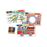 Melissa & Doug Fun Themes Placemat Learning Mats Set