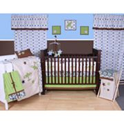 Bacati 10-pc. Camo Air Crib Set