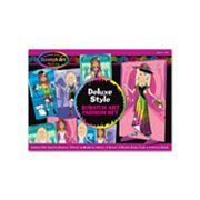 Melissa and Doug Scratchin' Fashion Deluxe Kit