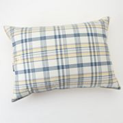 Chaps Plaid Down-Alternative Standard Pillow