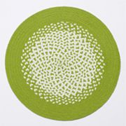Croft & Barrow Braided Round Placemat