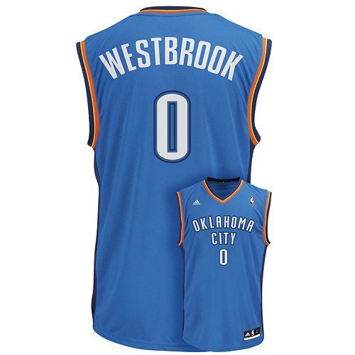 Men's adidas Oklahoma City Thunder Russell Westbrook NBA Jersey