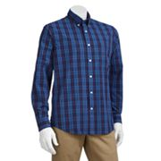 Dockers Classic-Fit Plaid Casual Button-Down Shirt