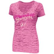 Majestic Milwaukee Brewers Long Shot Burnout Tee