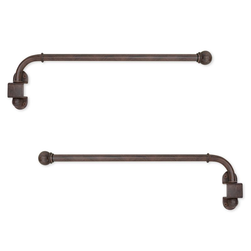 Umbra Swing Arm Curtain Rod Pivoting Curtain Rods