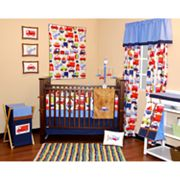 Bacati 10-pc. Transportation Crib Set