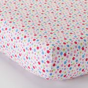 Bacati Fairy Land Fitted Crib Sheet Set