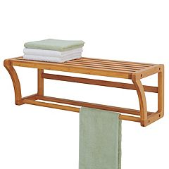 Neu Home Lohas Shelf & Towel Bar