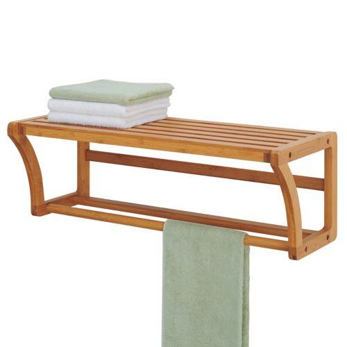 Neu Home Lohas Shelf and Towel Bar