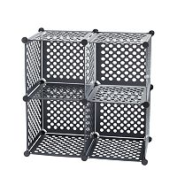 Neu Home 4 pkStackable Storage Cubes