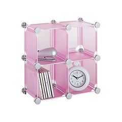Neu Home Frosted 4-pk. Stackable Storage Cubes