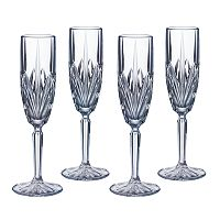 Marquis by Waterford Brookside 4 pc Flute Set