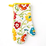 Food Network Floral Oven Mitt