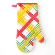 Food Network Plaid Oven Mitt