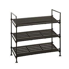 Neu Home 3-Tier Stackable Shoe Rack