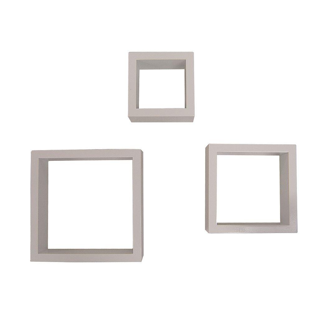 Neu Home 3-pc. Wall Cube Shelf Set
