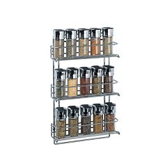 Neu Home 3 tier Wall-Mount Spice Rack