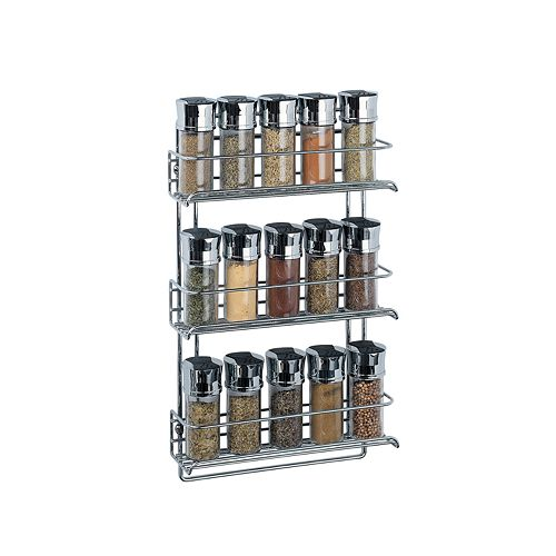 Neu Home 3-Tier Wall-Mount Spice Rack