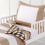 Bacati 4-pc. Metro Khaki Toddler Bedding Set