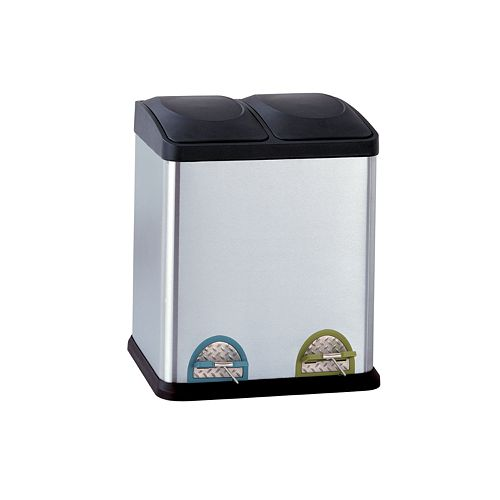 Neu Home 30-liter Step Recycle Bin & Trash Can