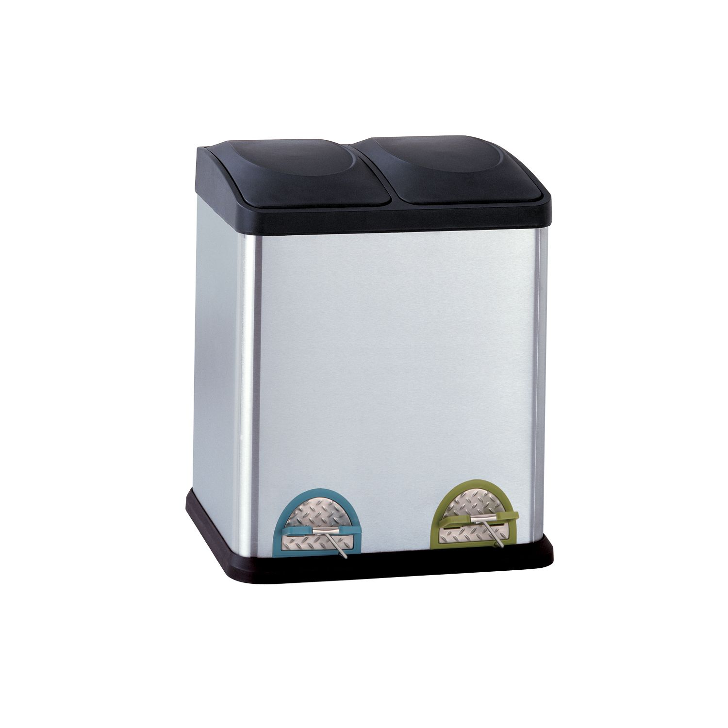 Neu Home 30 Liter Step Recycle Bin U0026 Trash Can