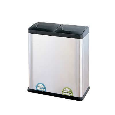Neu Home 60-liter Step Recycle Bin and Trash Can
