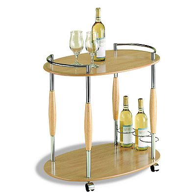 Neu Home Manhattan 2-Tier Serving Cart